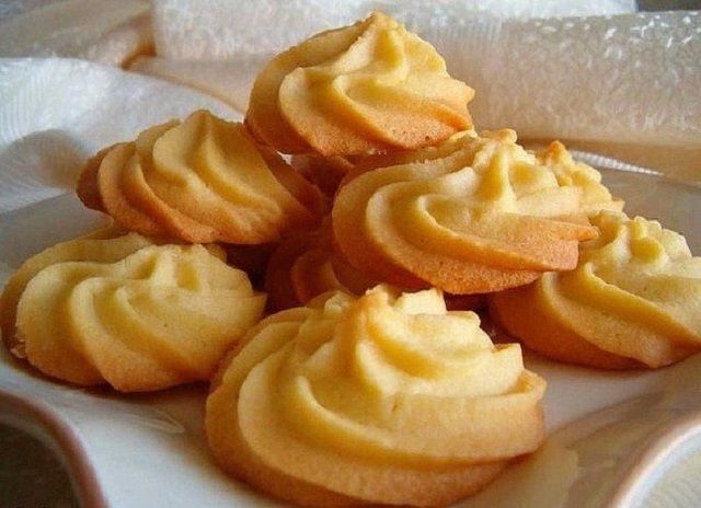 Delicate cookies «Melting point»
