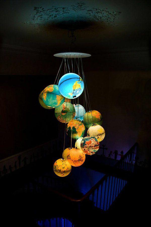 Auffällige Lampen für Kinderzimmer Teil 1 Lampen selber