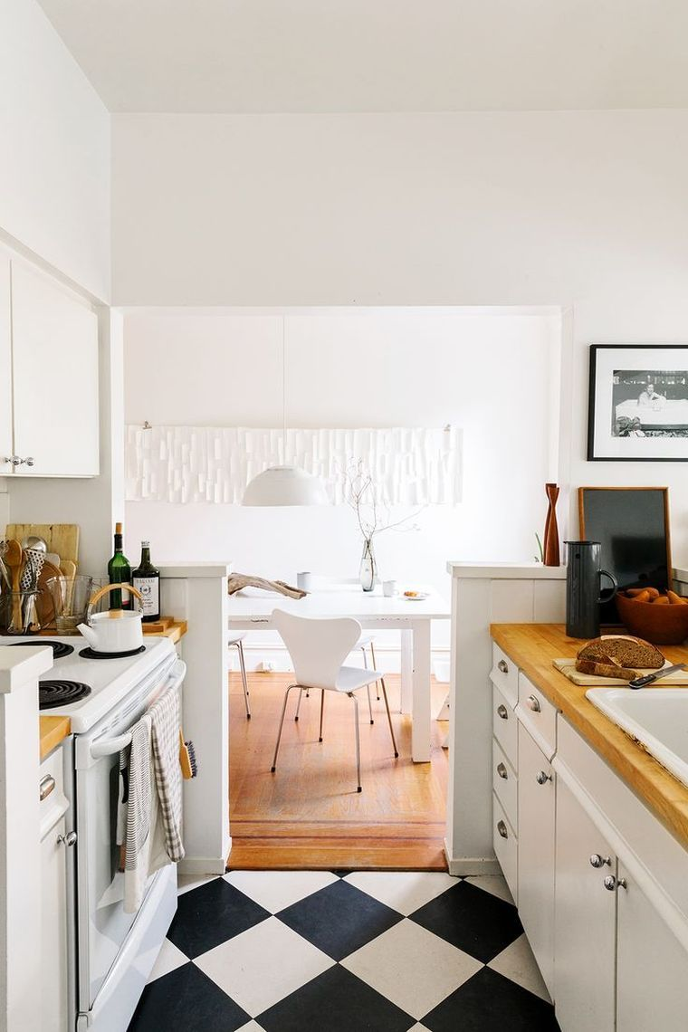 Comment aménager une cuisine en longueur ?  Cuisine en longueur