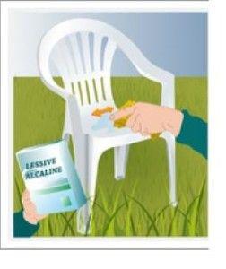 Comment peindre des chaises de jardin en plastique - Table et chaise de jardin plastique ...
