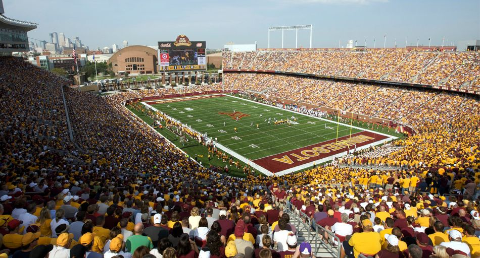 The Bank Gopher Football Tailgating Good Friends Good Times Sports Sports Stadium Places To Travel