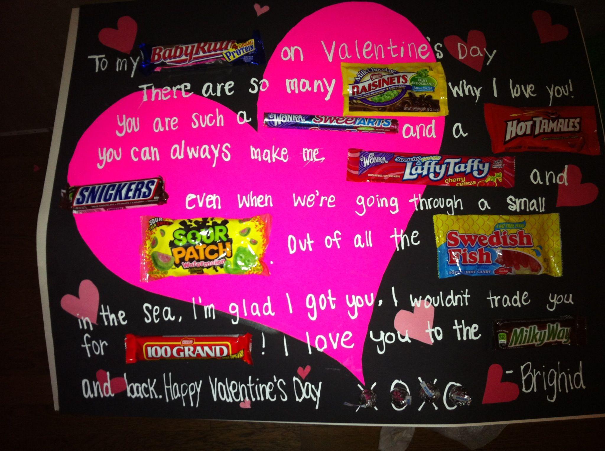 Valentines Day Candy Gram Diy Pinterest Valentines Candy