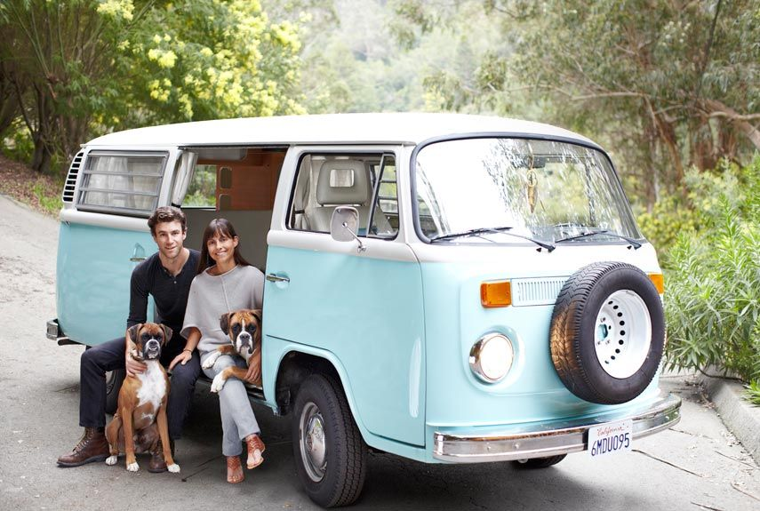 Small space decorating ideas from a california cabin vw