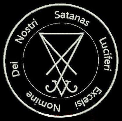Sigil Of Lucifer badge. | Satan lucifer, Evil art, Chaos ...  Seal Of Lucifer Tattoo