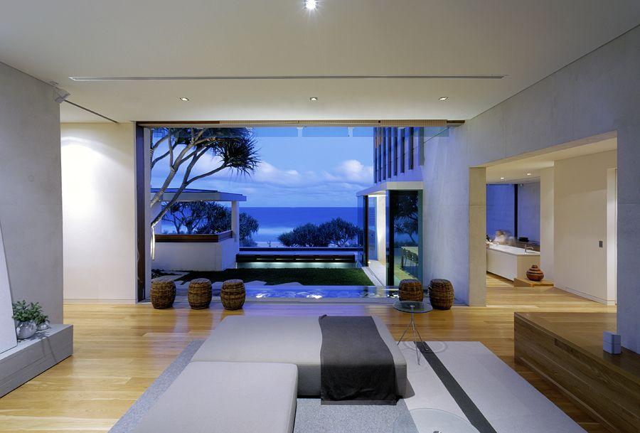 Description  Sunrise Beach House project commissioned by Wilson Architects, Brisbane, Queensland, Australia.