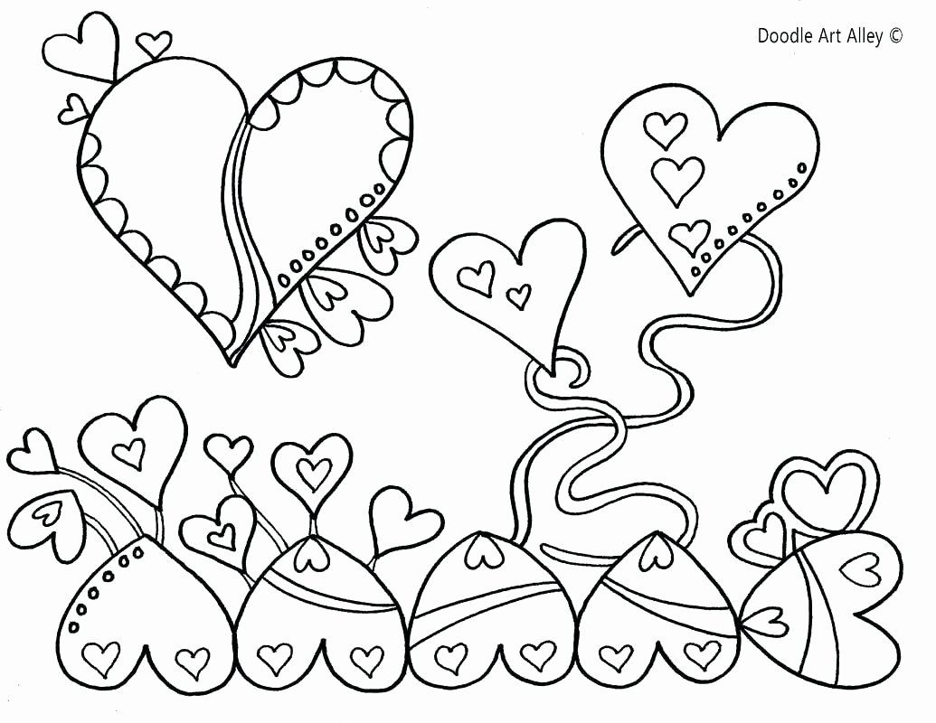 Coloring Heart Tree Lovely Conversation Hearts Coloring Sheets