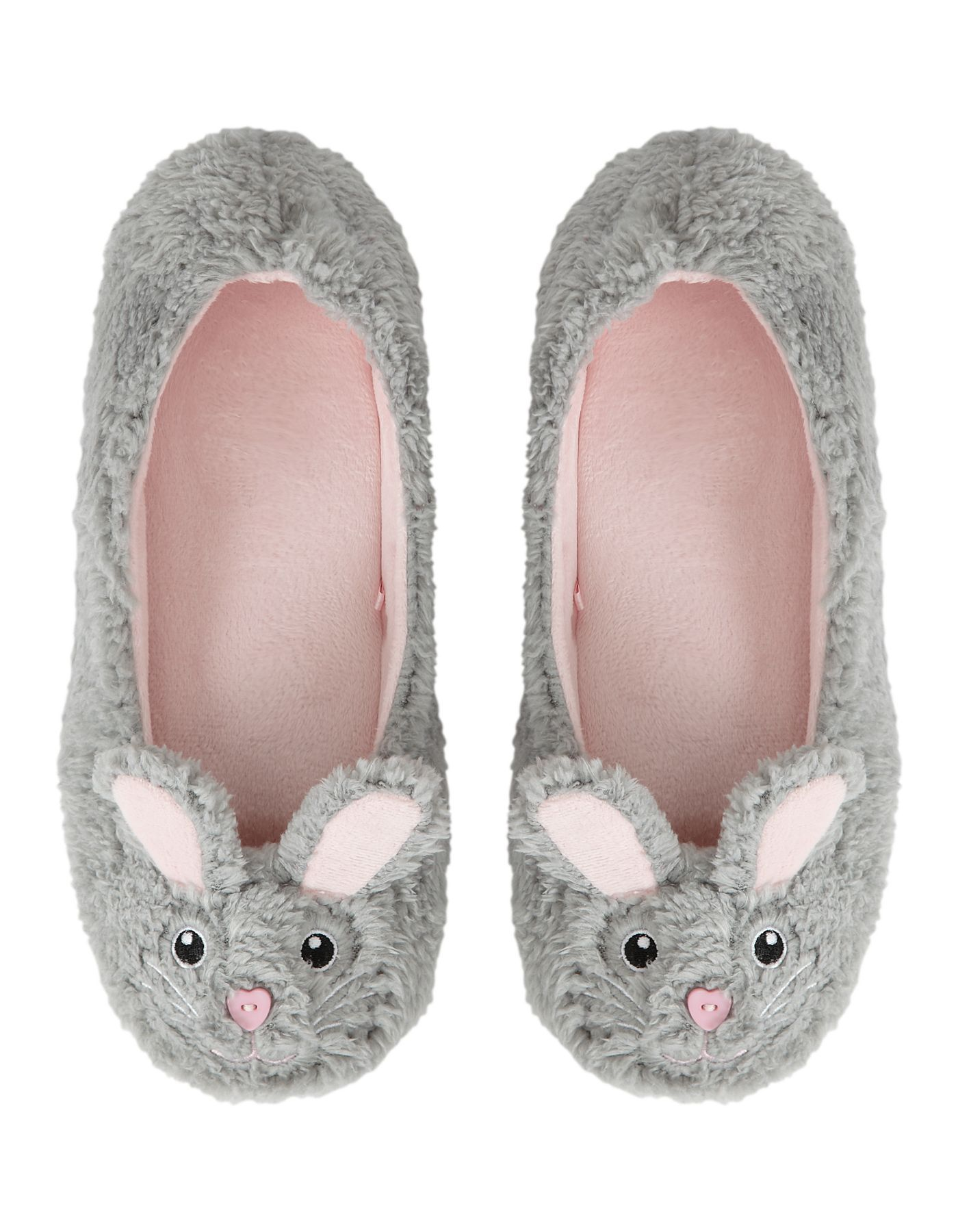 6 Rabbit Slippers | Women | George at