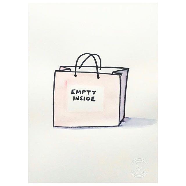 Fast fashion emotions #fastfashion #feelingempty #shoptillyoudrop