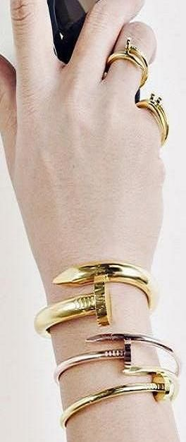 Cartier stacking ♥✤ | Keep the Smiling | BeStayBeautiful