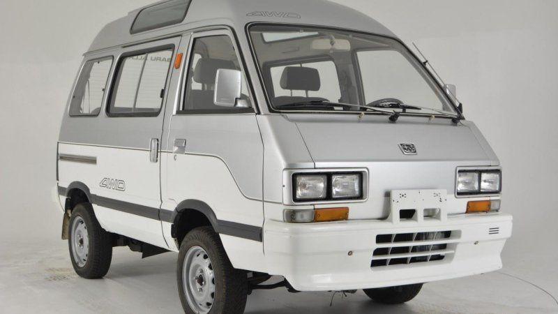 1992 Subaru Libero Japanese Van On Ebay Motors Subaru Toyota Previa Van