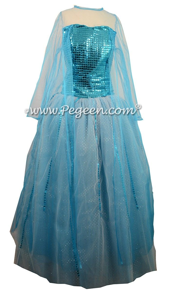 2c74a401962 Flower Girl Dress Style 908 - the Blue Diamond Fairy