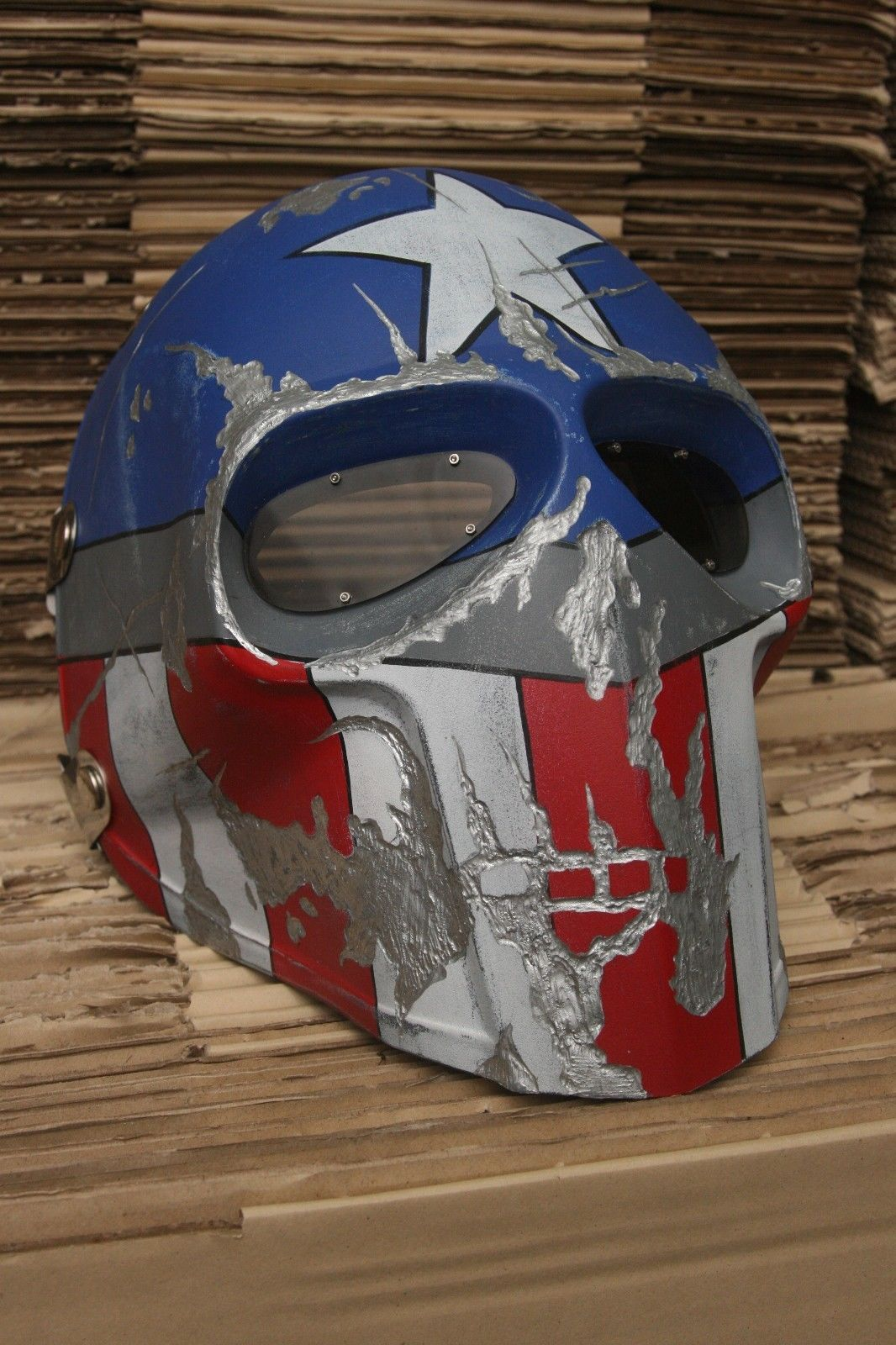 Onimaru mask army of two paintball airsoft helmet halloween ...