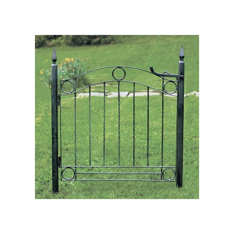 ACHLA Country Cottage Wrought Iron Garden Gate is part of Cottage garden Gate -