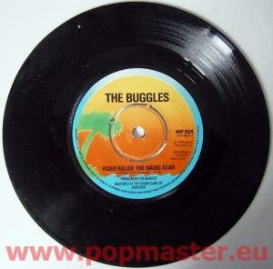 The Buggles Video Killed The Radio Star Wip6524 7 Stars On 45 Radio Stars