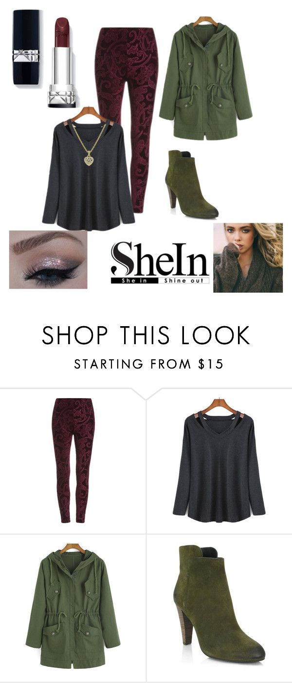 """""""SheIn"""" by baileyoutfitters ❤ liked on Polyvore featuring moda y Elie Tahari"""