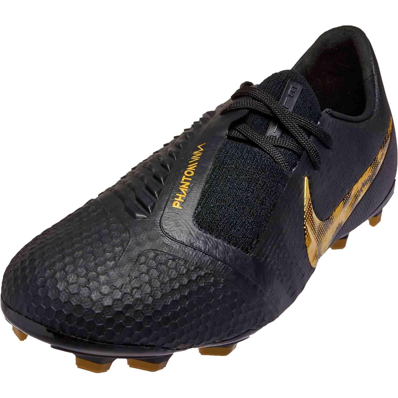 Kids Nike Phantom Venom Elite Fg Black Lux Soccerpro Black Nikes Nike Black