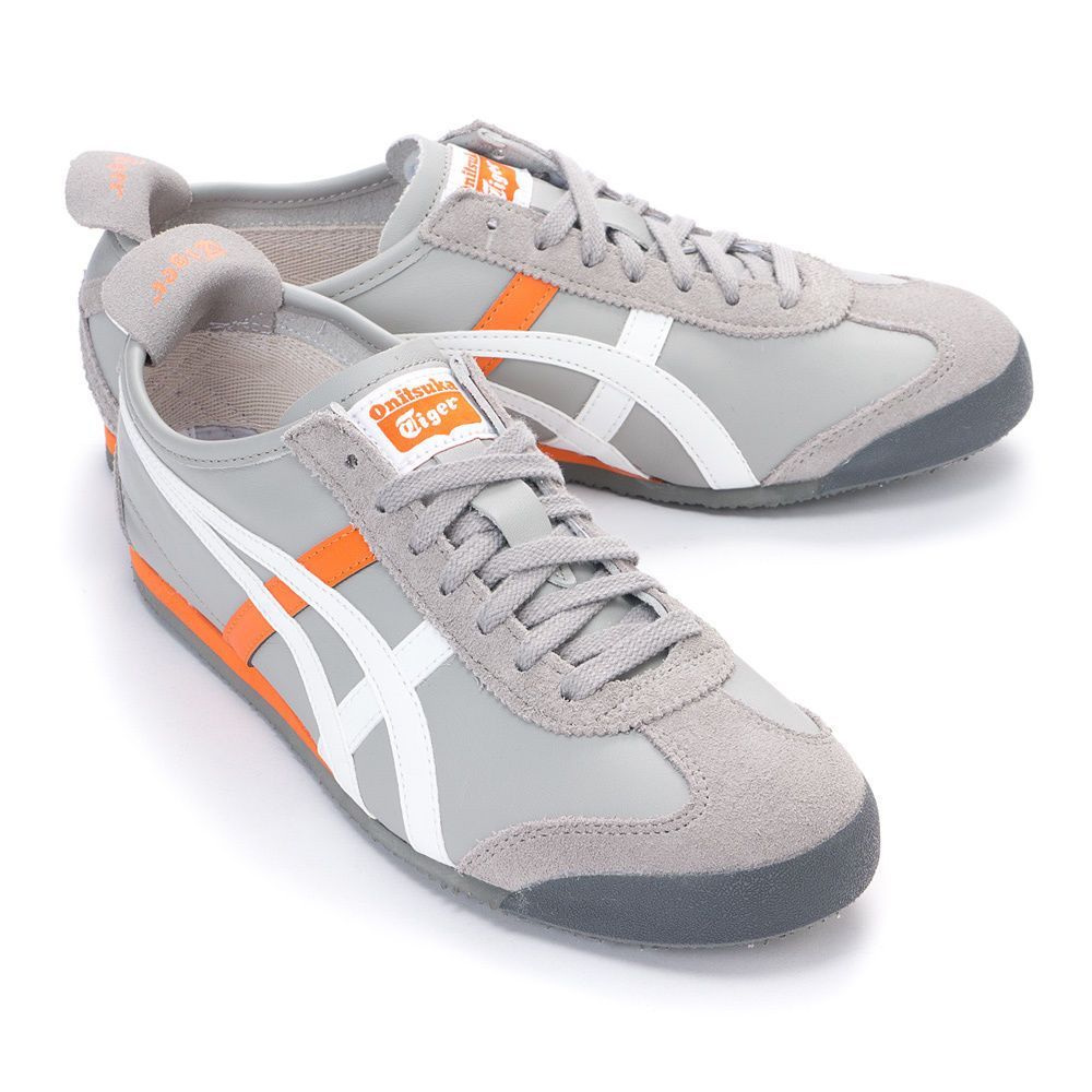 watch 54772 aaa8b Asics Onitsuka Tiger Mexico 66 Causal Shoes LIGHT GREY-WHITE ...