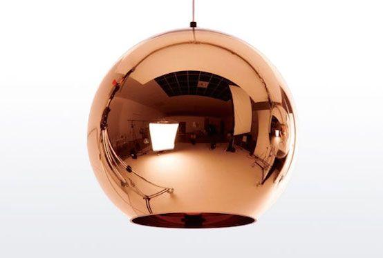 Tom Dixon Copper Shade 179 Hanglamp Koperen Hanglampen Koperen Lampen