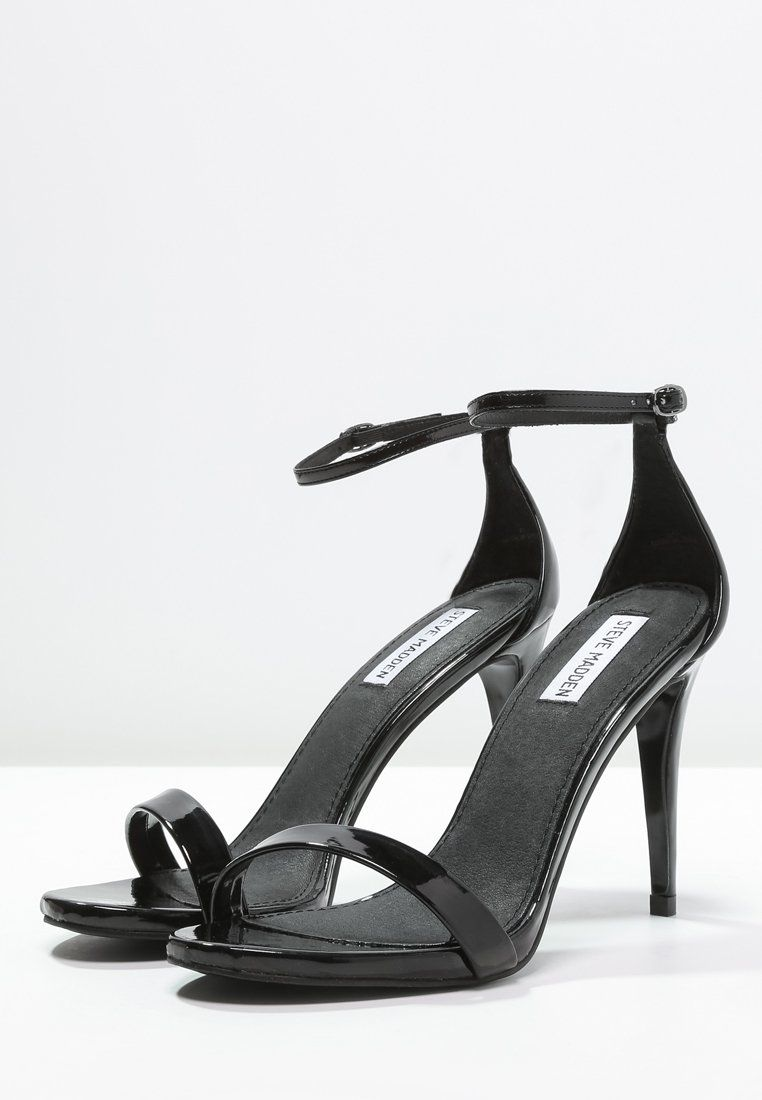 Steve Madden STECY - High heeled sandals - black YvEsr