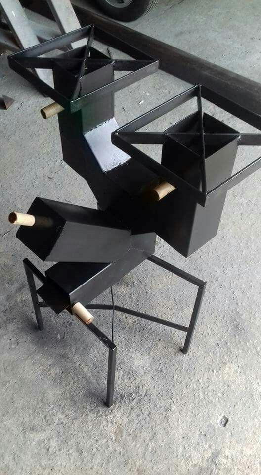Building A Sen Wait That S A Table Rocket Stove Design Rocket