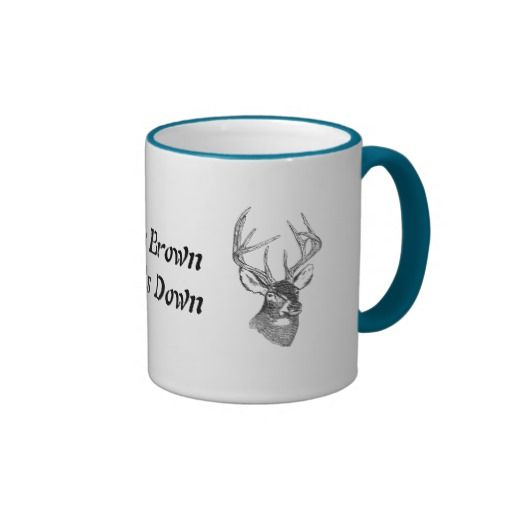 If It's Brown It go's Down Coffee Mug
