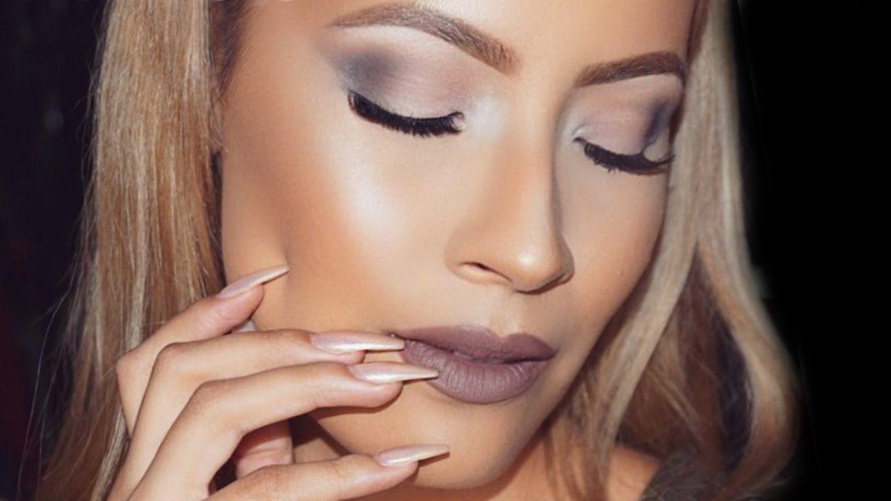 Urban Decay Smoky Palette Makeup Look - Desi Perkins - YouTube