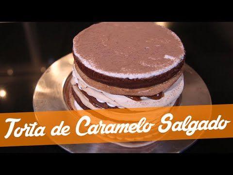 Torta De Caramelo De Sal Receita Bake Off Brasil Youtube