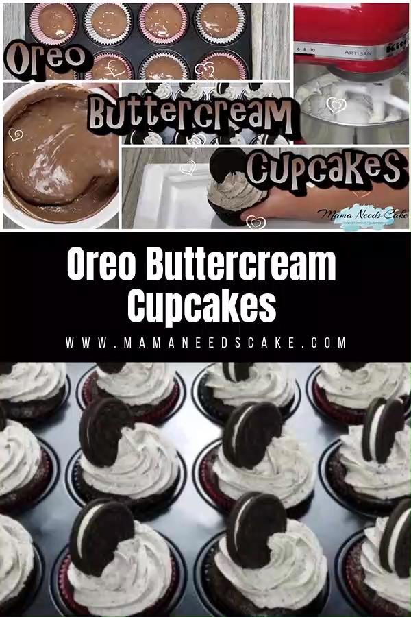 Oreo Buttercream Cupcakes
