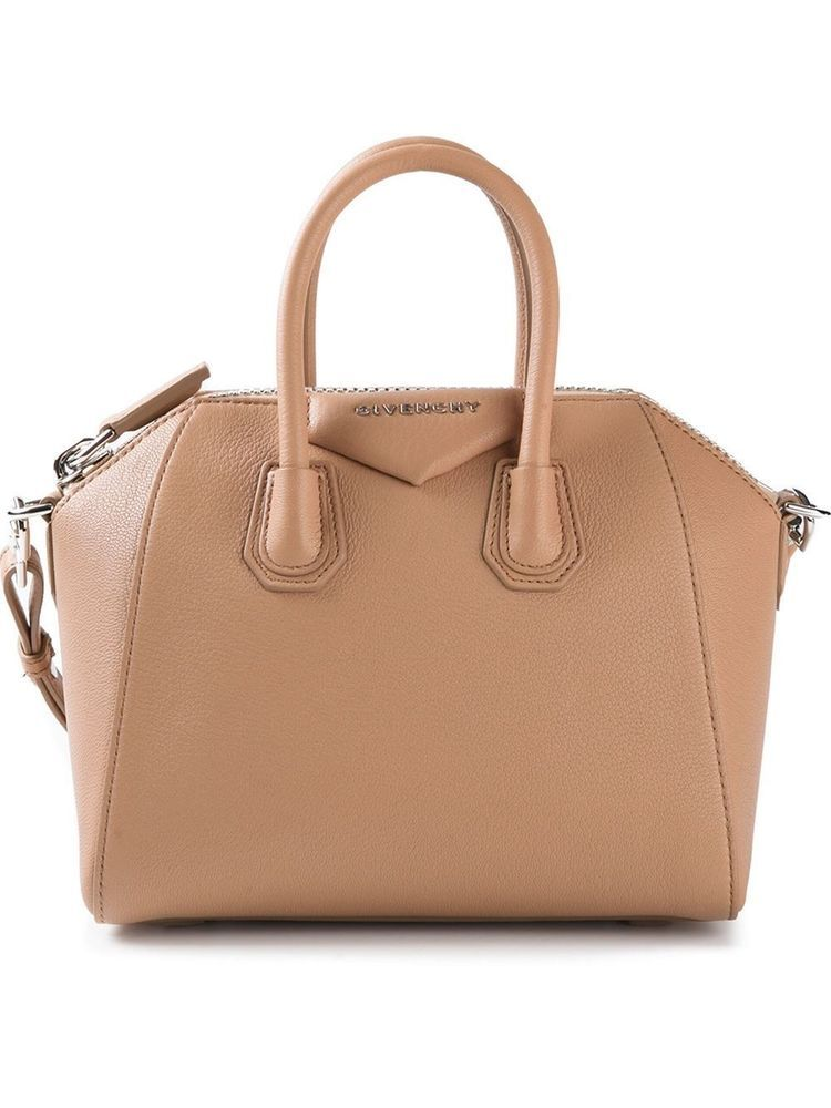 NEW GIVENCHY ANTIGONA MINI TOTE BROWN NUDE 100% GOAT SHOULDER HANDBAG LUX  GIFT  GIVENCHYANTIGONA  TOTEHANDBAG e25932dc969e7