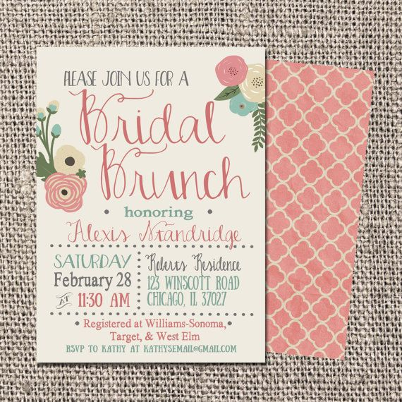 Hey, I found this really awesome Etsy listing at    wwwetsy - bridal shower invitation samples