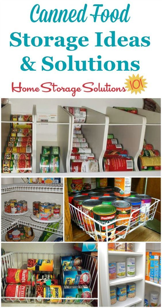Can Storage Ideas & Solutions: How To Organize Canned Food | Kitchen on kitchen storage for paper goods, kitchen storage for flour, kitchen storage for snacks, kitchen storage for fruits and vegetables, kitchen storage for bread, kitchen storage for clothes, kitchen storage for sugar, kitchen storage for oils, kitchen storage for pantry, kitchen storage for potatoes, kitchen storage for spices, kitchen storage for books, kitchen pantry storage canned food, kitchen storage for grains,