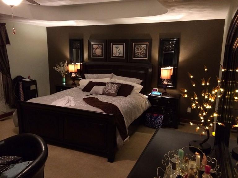 35 Lovely Romantic Master Bedroom Decorating Ideas Black Master