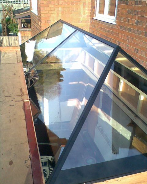 Conservatory Roof Lanterns And Rooflights: Aluminium Skylight - Large 4000 X 1200 Slimline