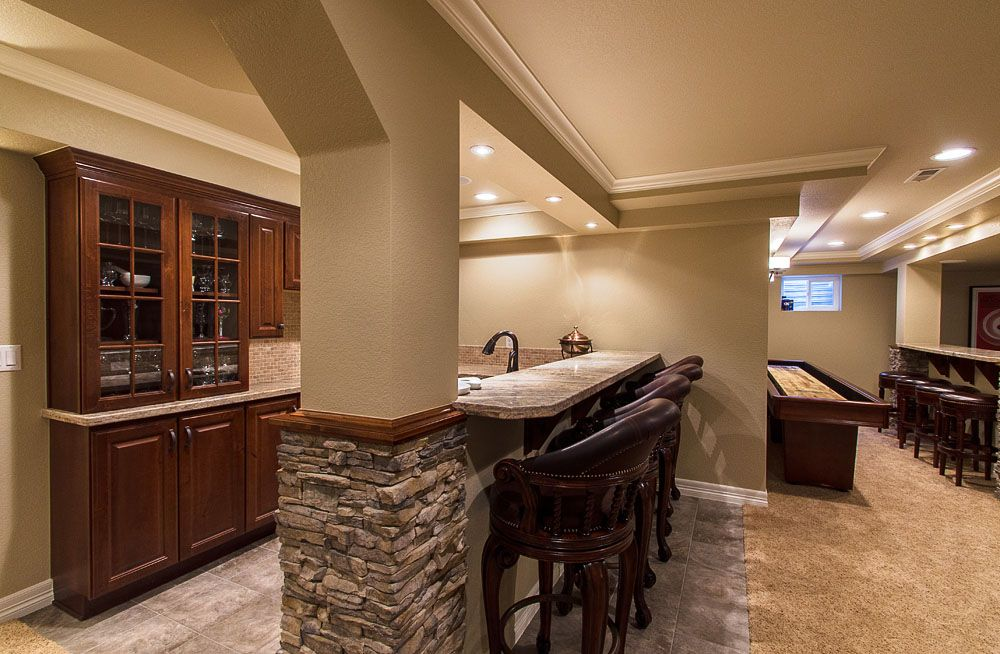Finished Basement Bars remodeling basement as a room that is more useful | basement