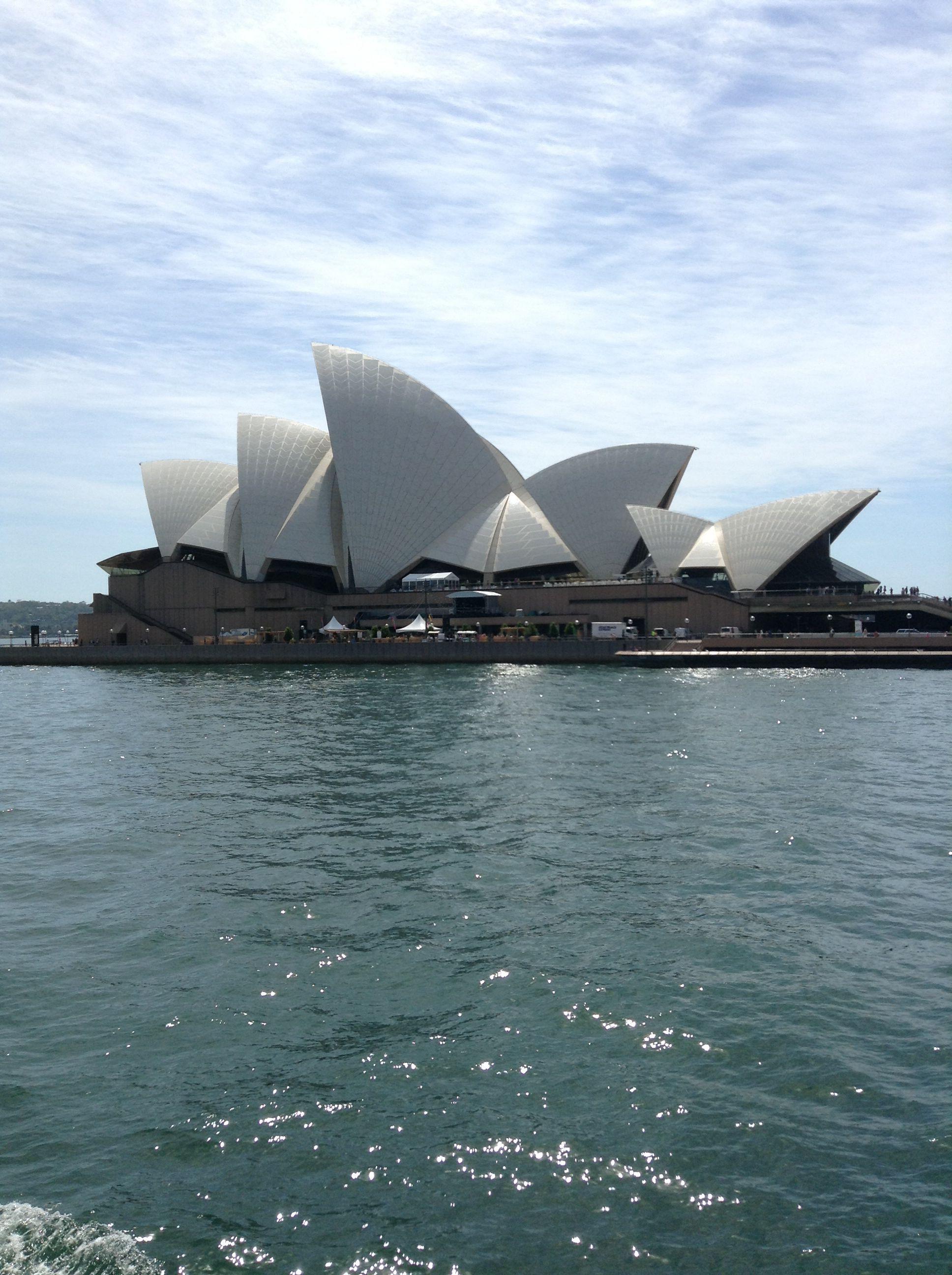 Sydney Opera House. So beautiful!