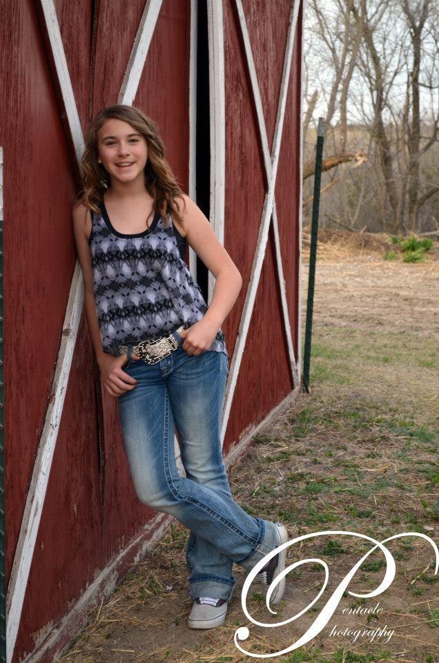 country girl <3 cute senior pic