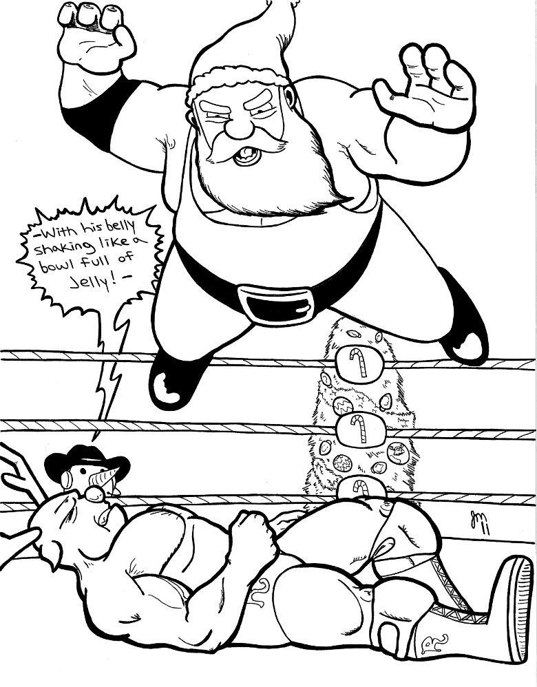 Groß Wrestling Farbseiten Fotos - Druckbare Malvorlagen - amaichi.info