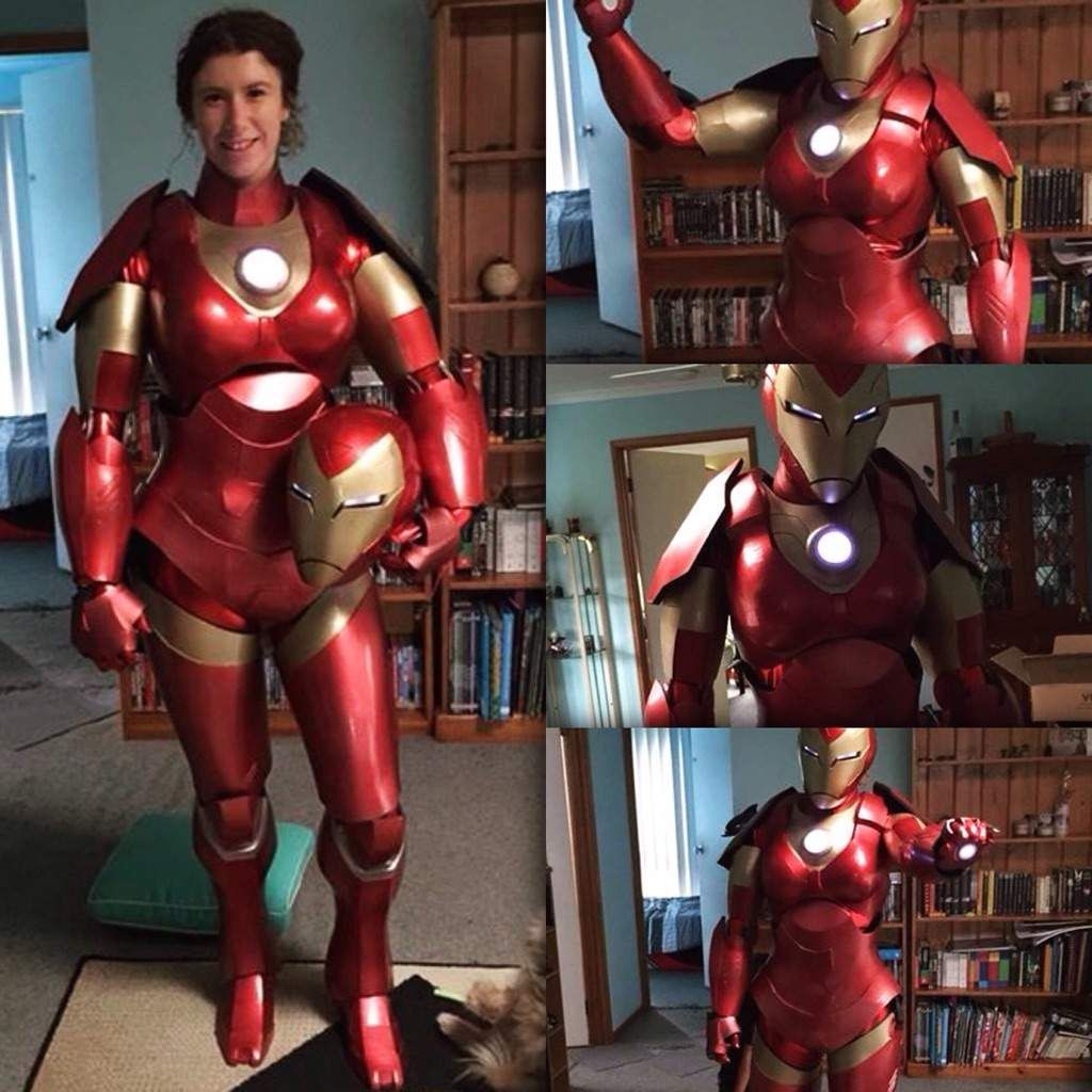 Iron Woman Concept Costume: I Am Iron Woman, Hear Me Roar - Technabob