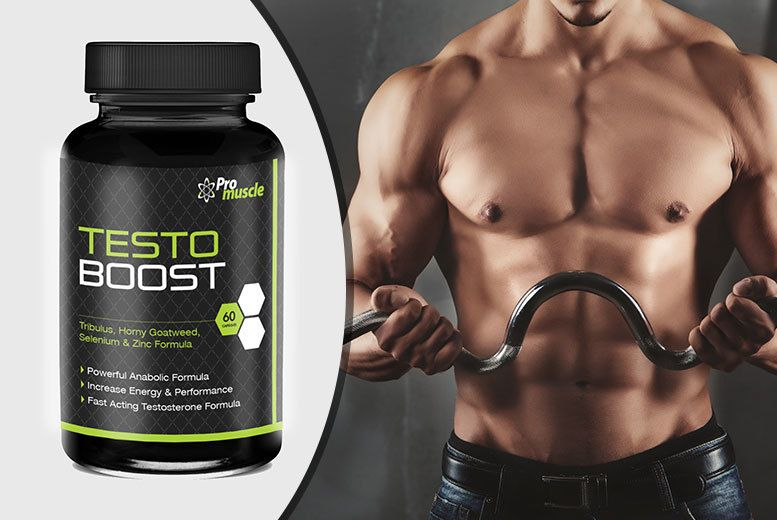 """1 or 3mth Supply* of """"Testosterone Booster"""" Capsules Testosterone"""