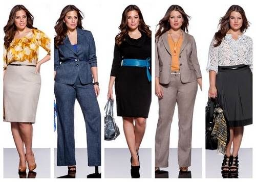 business casual outfits for plus size women