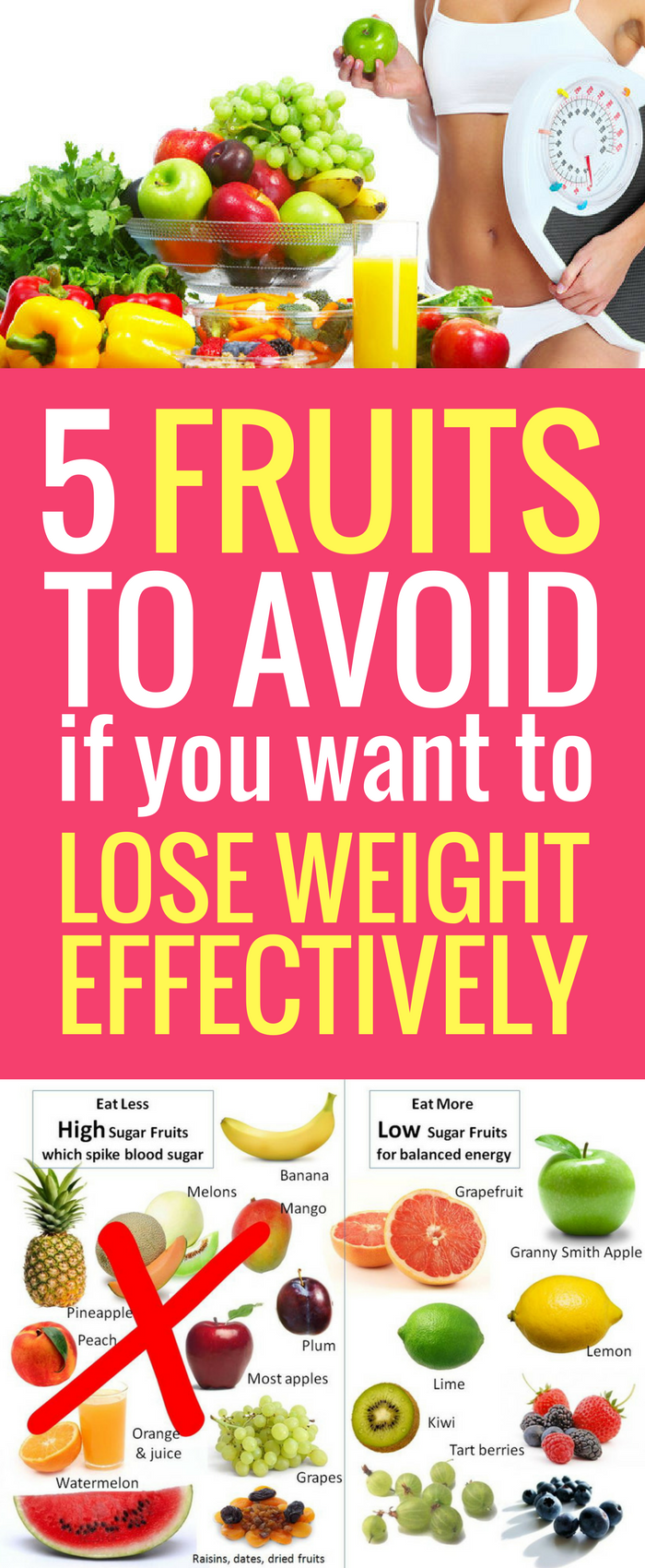 foto How to lose weight with fruits and vegetables