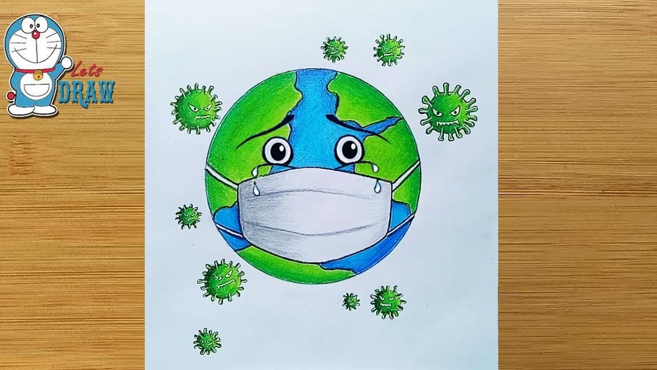 Pin By Miss Kiss S On Legkie Risunki In 2020 Earth Drawings Save Earth Drawing Save Water Poster Drawing