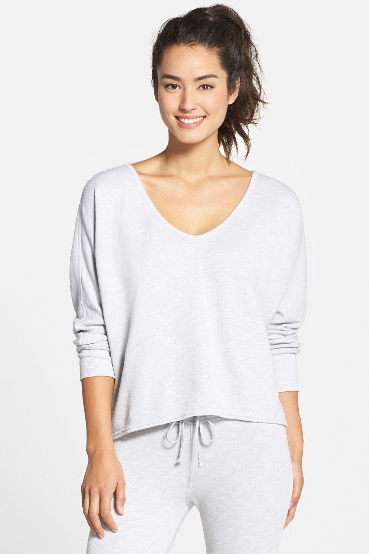 HARD TAIL - V-Neck Dolman Sleeve Pullover at Nordstrom Rack. Free Shipping on orders over $100.