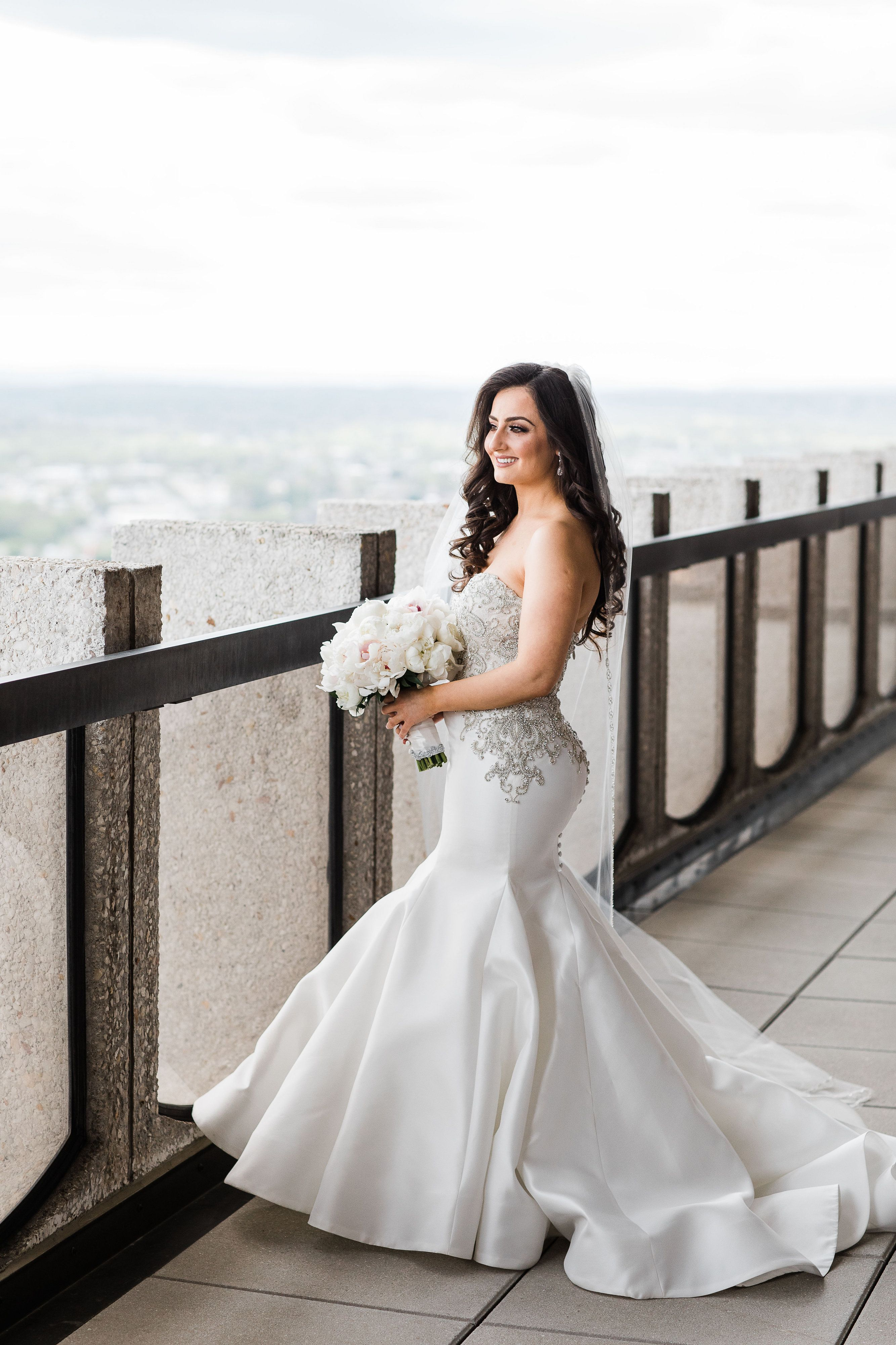 Anila In The Lourdes Wedding Dress By Anne Barge The Mermaid Silhouette Silk Fabric And Dramatic Beaded Bodi Wedding Dresses Bridal Inspiration Bridal Gowns [ 4000 x 2667 Pixel ]