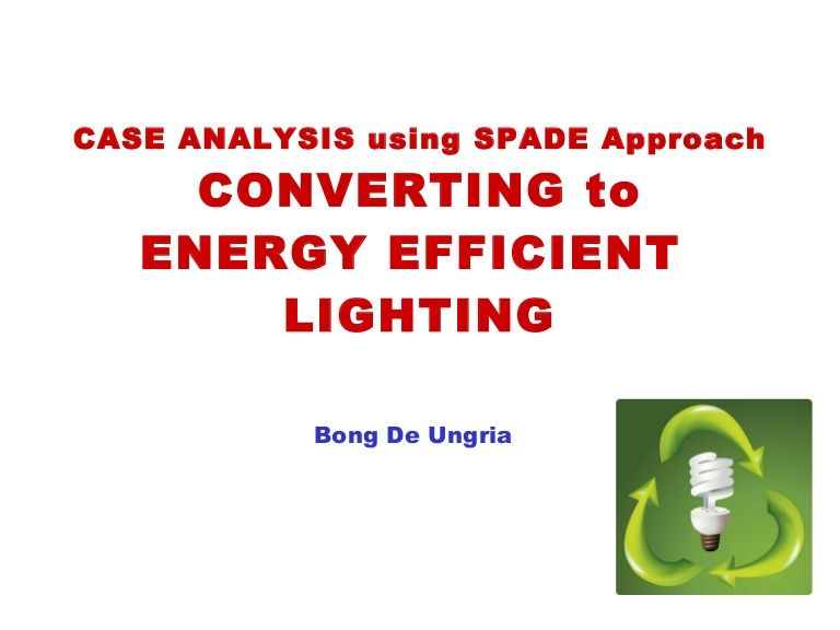 Case Analysis Use Of Spader Approach For Philips Lighting