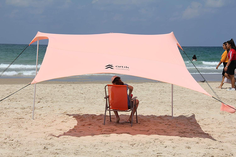 Artik Beach Tent Sunshade Portable