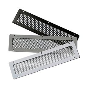 Soffit Vent Animal Guard 4 X 16 In Specify Color Case 10 House On The Rock Galvanized Steel Wall Vents