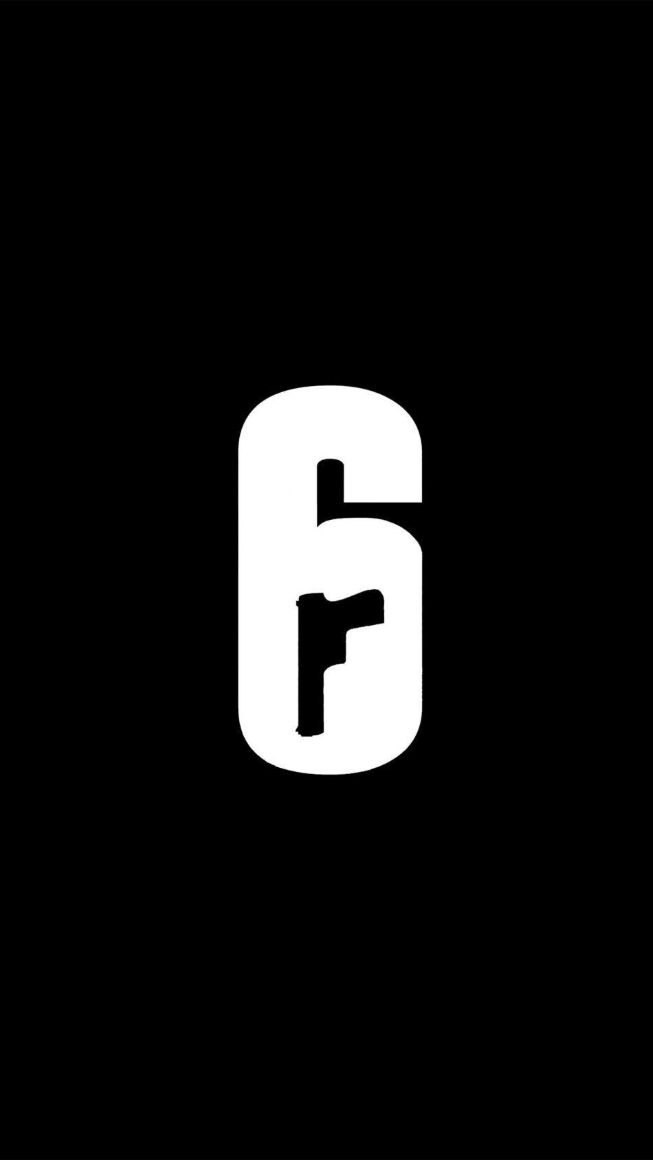 Tom Clancy S Rainbow Six Siege Minimal Logo Free 4k Ultra Hd