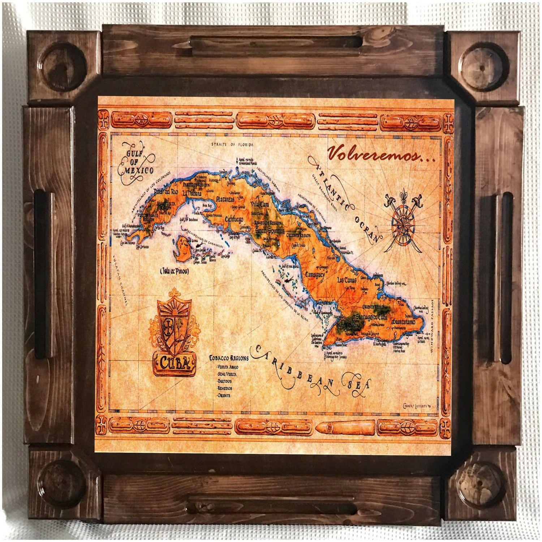 Woodenwood dominoesdomino tablemesa-custom made-Cuba-Made in USA