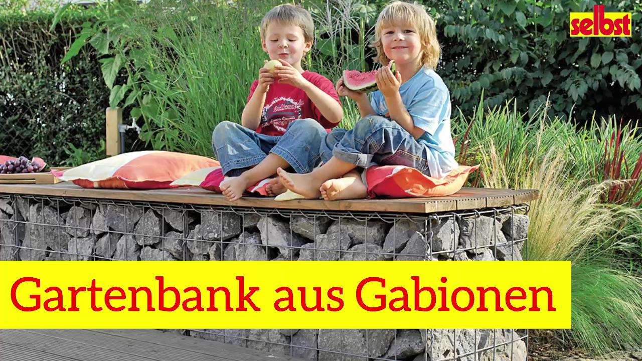 Video: Gartenbank aus Gabionen bauen -   16 garden design Inspiration building ideas